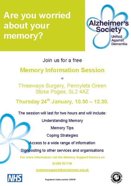 Memory Session Poster